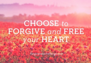 #forgivenesschallenge choose